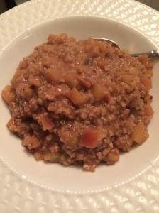 Apple Pie Oatmeal (2)